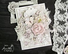 Wow..! Just stunning..! Gorgeous card by Kavitha, for MajaDesign. <3 Papers from the Celebration collection. #card #cardmaking #cardinspiration #papercraft #papercrafting #papercrafts #scrapbooking #majadesign #majadesignpaper #majapapers #inspiration #vintage #celebration
