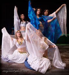 I colori del #cielo... Le danzatrici sognano...