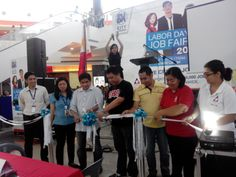 Job Fair 2014 :) Ribbon Cutting with the VIPs SM City Rosario having the highest growth in South Luzon 1 Malls :)