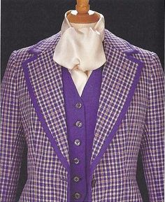 Tommy Nutter Blue Check Suit - 1969