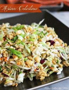 "Click Here for Recipe: Asian Coleslaw ""This Asian inspired coleslaw is a..."