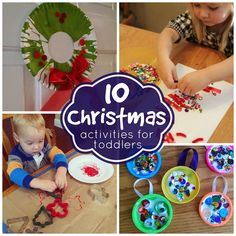 10 Simple Christmas Activities for Toddlers
