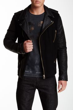 Quilted Leather Jacket by Scotch & Soda on @HauteLook | The ... : scotch and soda quilted leather jacket - Adamdwight.com