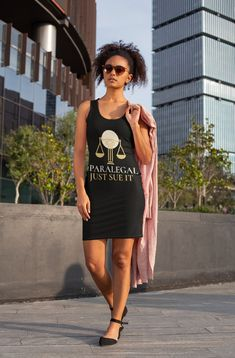 Looking for a cute tank dress? Why not drop by our shop to get your own paralegal tank dress now? Get through this with a nifty new sleeveless tank dress that you can't get anywhere else! Tank Dress, Shirt Dress, Fine Black Men, God's Plan, Paralegal, New Journey, Lawyer, Nifty, Slip On