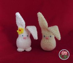 AMIGURUMI BUNNY - 2014 Toma Creations. ☀CQ #crochet #amigurumi #easter  http://www.pinterest.com/CoronaQueen/crochet-amigurumi-corona/