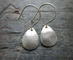 http://www.etsy.com/listing/85212391/sterling-silver-brushed-teardrop
