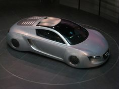 "Audi RSQ concept car from the 2004 sci-fi film ""I, Robot""  (photographed in the AUDI museum Ingolstadt, Bavaria)"