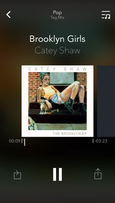 ♫ Brooklyn Girls by Catey Shaw #nowplaying via @groovemusicapp