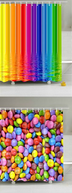 Waterproof Polyester Bathroom Shower Curtain