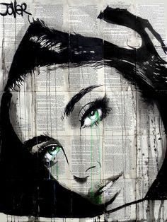 View LOUI JOVER's Artwork on Saatchi Art. Find art for sale at great prices from artists including Paintings, Photography, Sculpture, and Prints by Top Emerging Artists like LOUI JOVER. Portrait Art, Portraits, Art Sketches, Art Drawings, Newspaper Art, Sketch Painting, Human Art, Art Graphique, Beautiful Drawings