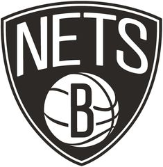 Brooklyn Nets Alternate Logo (2012 13-Pres) - NETS in white arched 36c873c34