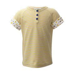 Gold Stripes Short Sleeve [Size Adjustable] Gold Stripes, Yellow Stripes, Kids Shorts, Striped Shorts, Shirt Dress, T Shirt, Shirt Sleeves, Mens Tops, Dresses