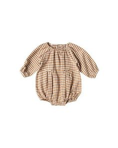 377697ae104 Gingham Bubble Romper – Sweet Tea and Caviar - A Baby Boutique