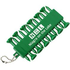 Advertise your logo on the green with this imprinted golf set!