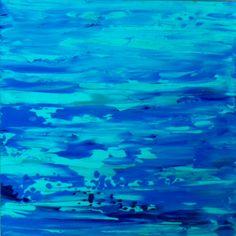 ELEUTHERA - Susana King 2014 - Acrílico sobre fibracel - VENDIDO - Facebook Susana King Galería de Arte