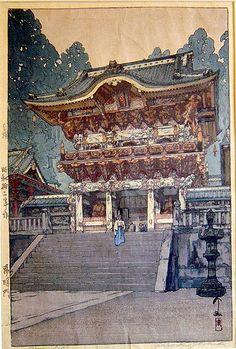 Hiroshi Yoshida  Yomei Gate,
