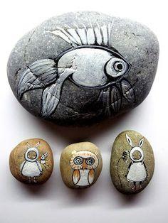 Magische Stenen Schilderen