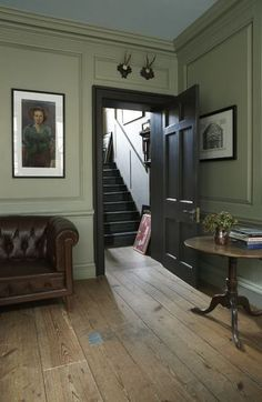 Modern Country Style: Colour Study Farrow and Ball French Gray Click through for. Modern Country Style: Colour Study Farrow and Ball French Gray Click through for details. Living Room Inspiration, Georgian Homes, Room Colors, Interior, Modern Country Style, House, Georgian Interiors, Home Decor, House Interior