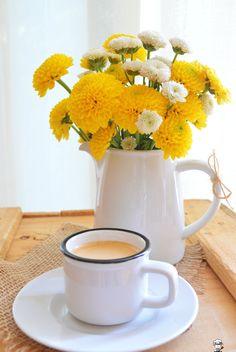 Café puro! www.camilanacozinha.com