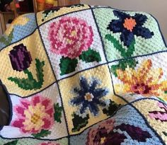 Nature Blanket Gorgeous Free Crochet Pattern
