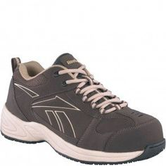 RB1870 Reebok Men's Street Sport Safety Shoes - Brown www.bootbay.com