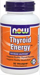 Thyroid Energy™ pb From the Manufacturers Label: /b/p pSupports Healthy Thyroid Function/p pSupports Healthy Metabolism**/p pNOW Thyroid Energy is a complete nutritional supplement for the support of healthy thyroid function. NOW has combined Iodine (from Kelp) and Tyrosine, the two integral constituents of thyroid hormone, with the minerals Selenium, Zinc and Copper, to assist in its production.  In