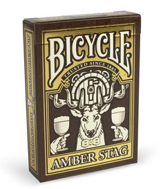 AMBER STAG DECK By Bicycle