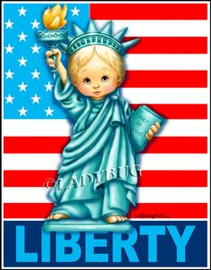 """""""Liberty"""" © by Ladybug Creations."""