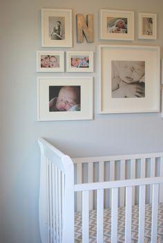 noah's nursery - gallery wall