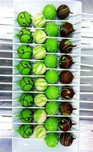 Pop Cakes For Saint Patrick's Days