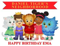 Daniel Tiger Edible Cake Topper