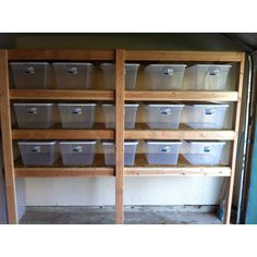 Garage Organization everything for $168:) Neat idea for all of hubby's tools and nails!