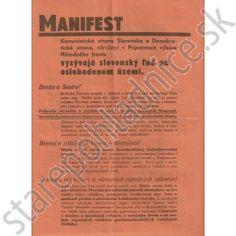 Propaganda manifest Košice