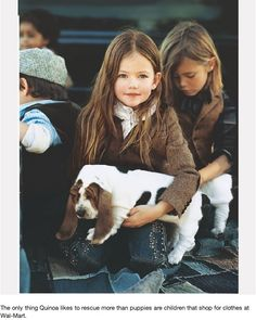 Ralph Lauren Kids - Basset Puppies - good tweed,more from here . Little People, Little Ones, Little Girls, Fashion Kids, Cute Kids, Cute Babies, Baby Kind, Baby Love, Foto Picture