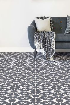 Rabat is an intricate Moroccan design that features a sophisticated geometric pattern of decorative circle shapes, with a vintage-style colour scheme.