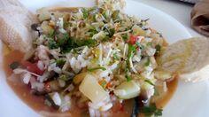 Menestrón de verduras con arroz