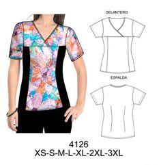 Delantales Scrubs Outfit, Scrubs Uniform, Medical Uniforms, Work Uniforms, Custom Clothes, Diy Clothes, Clothes For Women, Office Uniform For Women, Scrubs Pattern