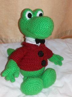 Крокодил Гена / Мир игрушки / Вязаные игрушки. Мастер-классы, схемы, описание.