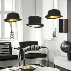 Hat Drop light and Lamp