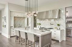 Marmor als Küchenrückwand