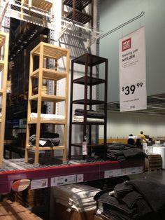 IKEA shelving for bathroom?