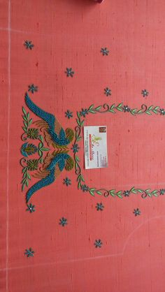 Peacock Blouse Designs, Peacock Embroidery Designs, Latest Embroidery Designs, Simple Blouse Designs, Bridal Blouse Designs, Best Embroidery Machine, Embroidery Works, Maggam Work Designs, Maggam Works