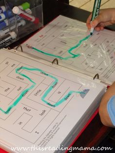 sight word mazes for preschoolers   This Reading Mama