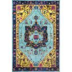 Vintage Janella Multi 5 ft. 3 in. x 7 ft. 7 in. Area Rug