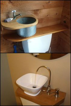 Save Money by Reducing Water Consumption With This DIY Toilet Tank Sink!