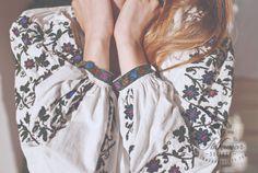 aesthetics, alternative, and fashion image Folk Fashion, Embroidery Fashion, Fashion Images, White Outfits, Hippie Boho, Kimono Top, Romania, Retro, My Style