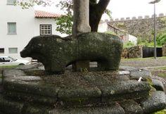 Uno dei Berrões: attorno a Bragança ve ne sono più di 200 e sembrano simboleggiare la fertilità. Risalgono al primo-terzo secolo D.C.