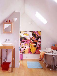 Add a Private Bath in your extra attic space.