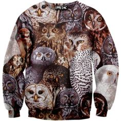 Owls on Owls on Owls Sweater