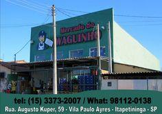 JORNAL AÇÃO POLICIAL ITAPETININGA E REGIÃO ONLINE: MERCADO DO WAGUINHO Rua. Augusto Kuper, 59 Vila Paulo Ayres - Itapetininga - SP
